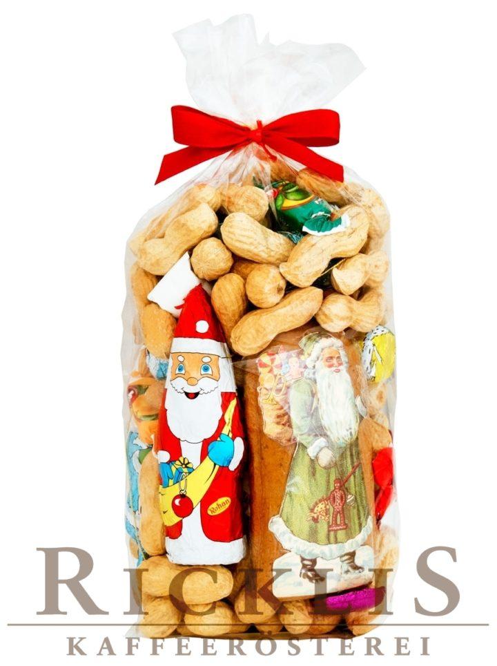 700g Klaussack gross mit feinen RickliS Erdnüssen